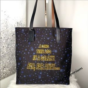 Coach x Star Wars Large Canvas Tote Bag